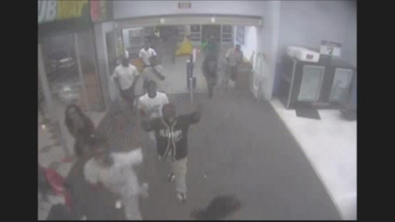 VIDEO: Teens storm Georgia Wal-Mart in wild rampage of destruction