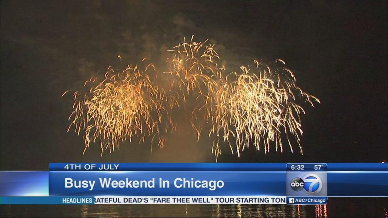 July 4th events expected to draw thousands