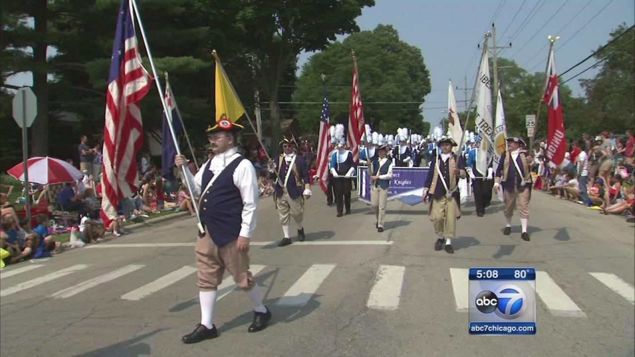 Patriotic parades kick off 4th of July celebrations