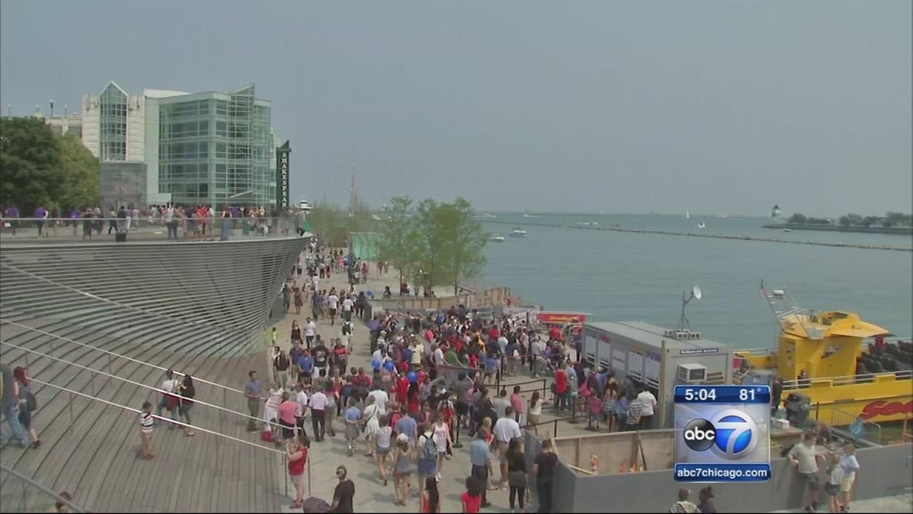 Navy Pier fireworks drawing huge crowds, increased security