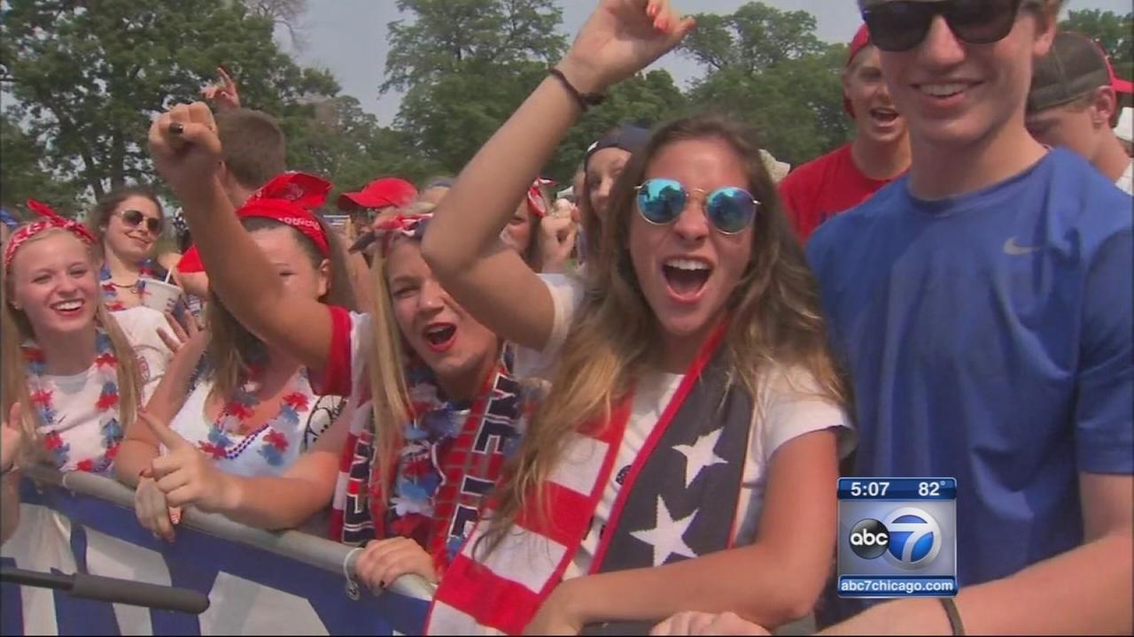 World Cup watch party in Lincoln Park Sunday night