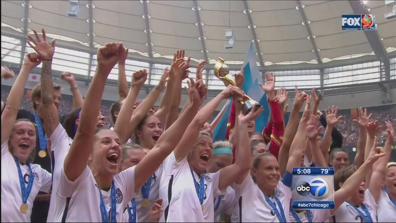 4 Chicago players helped US win World Cup title