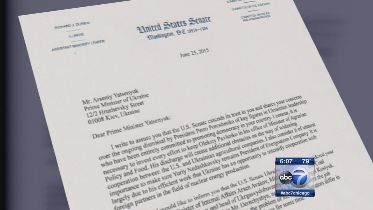 Hoax Durbin letter aims to disrupt Ukraine