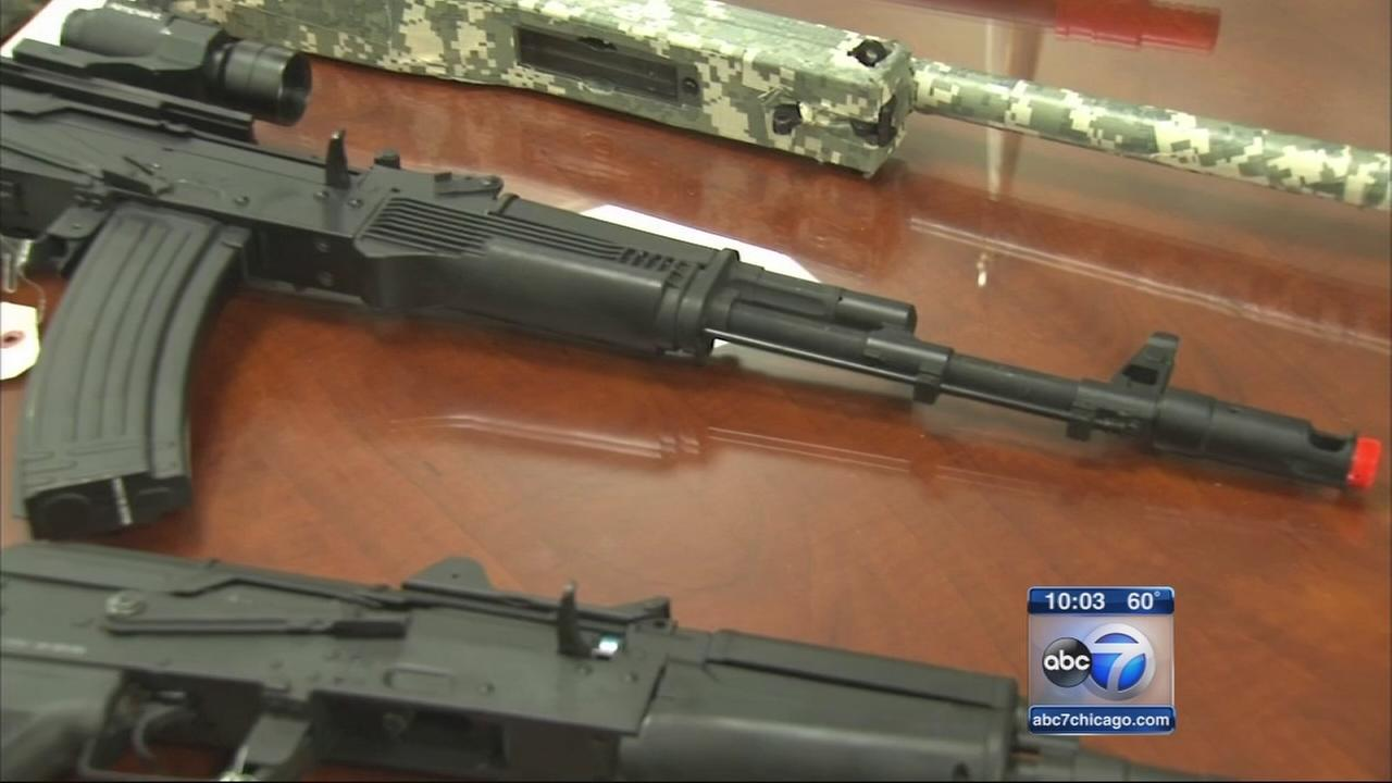 Police warn teens with fake guns risked getting shot