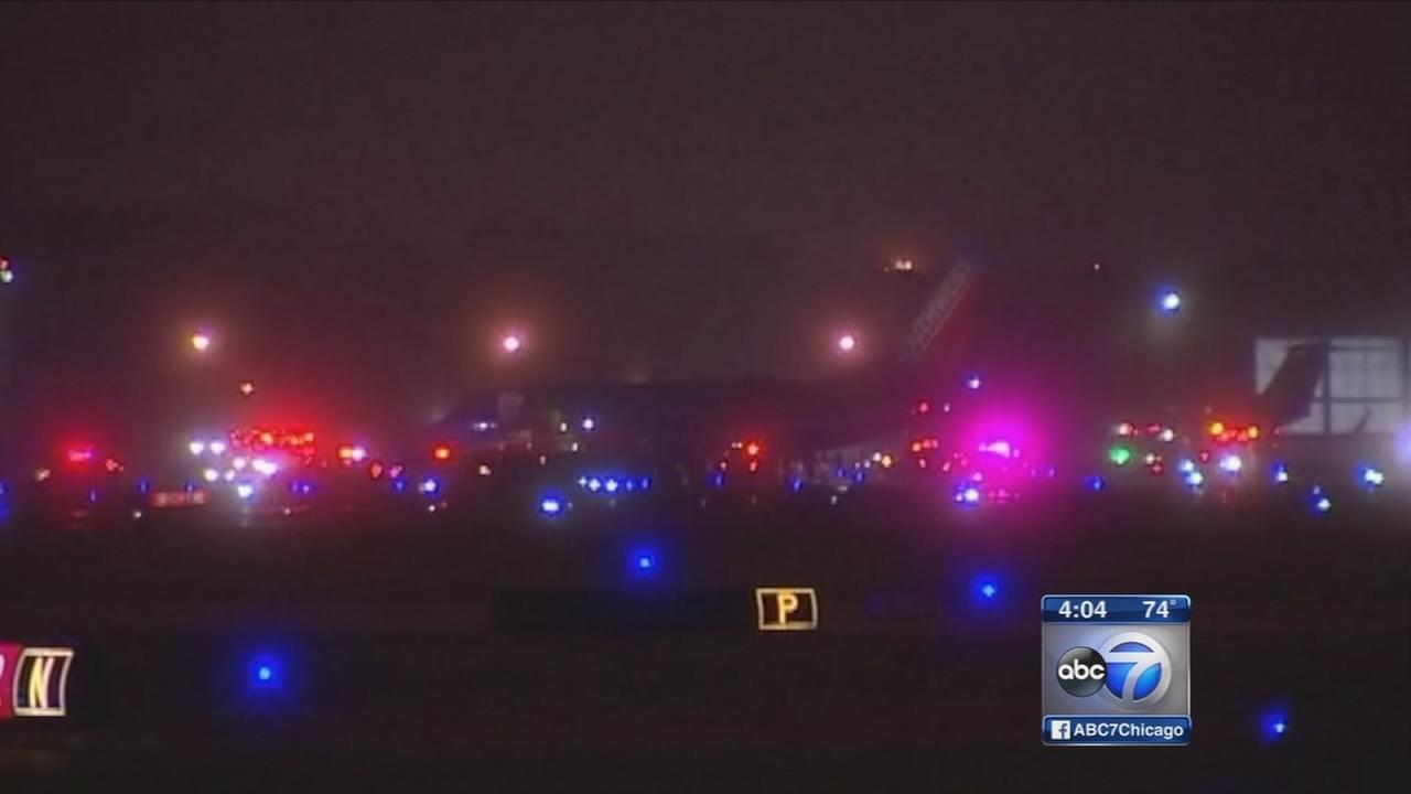Engine fire halts plane during takeoff