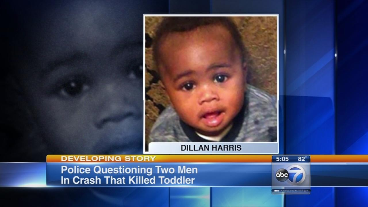 2 questioned after toddler in stroller killed by fleeing car