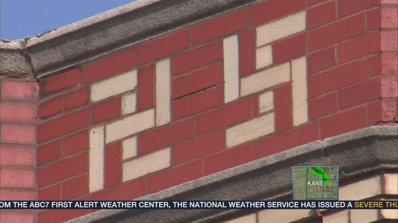 Swastikas on public buildings, homes in Chicago