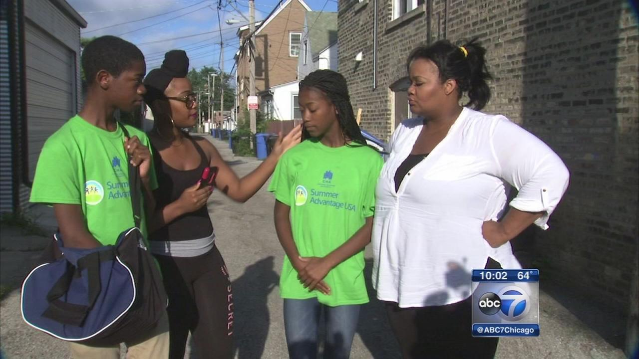 Brother saves sister from attempted abduction