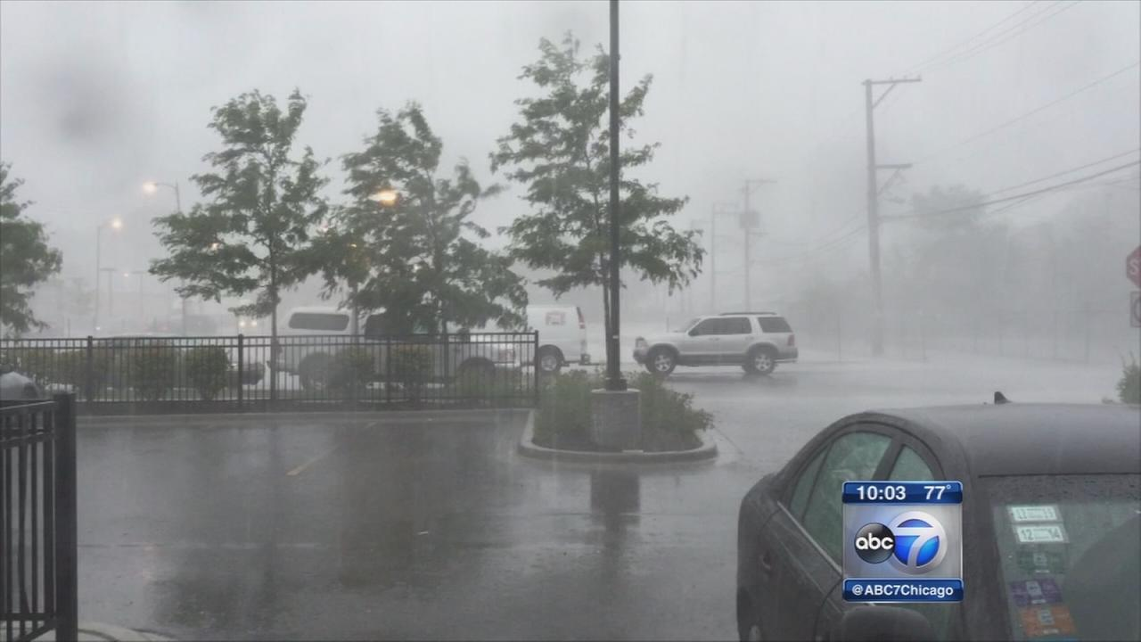 Powerful storms move through area with heavy rain, tornado threats