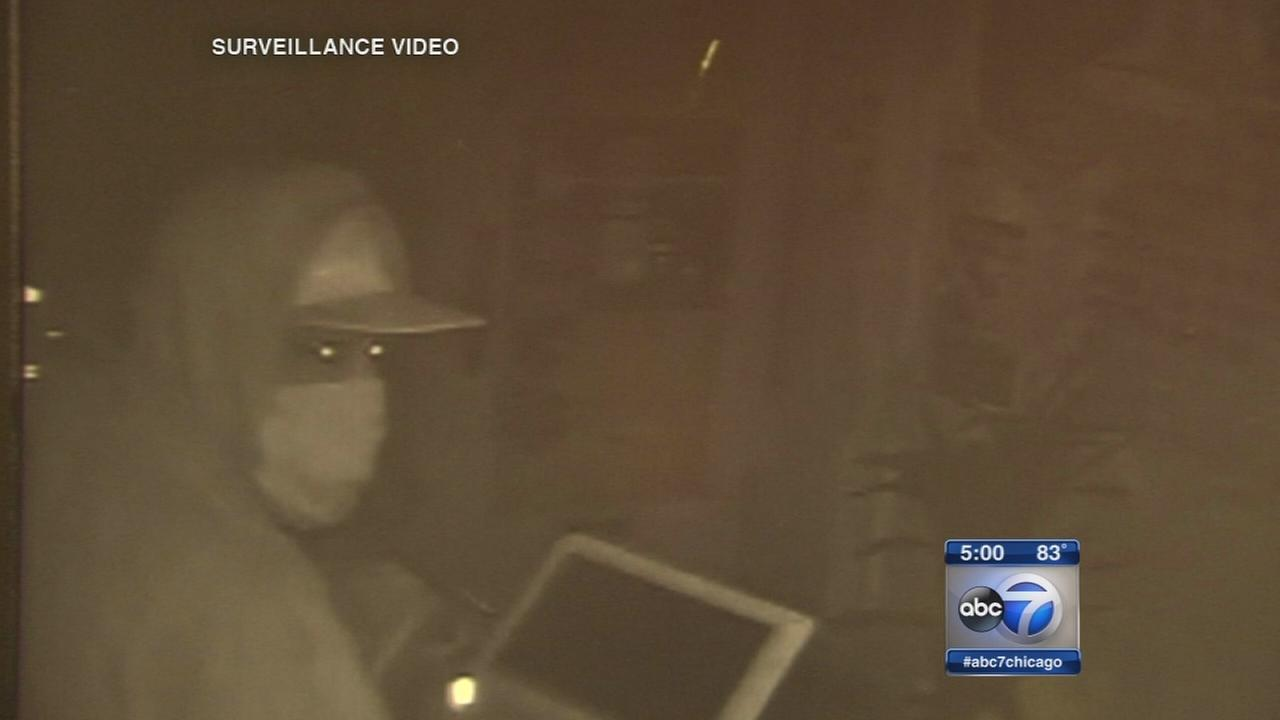 Surveillance video released from Lakeview burglaries
