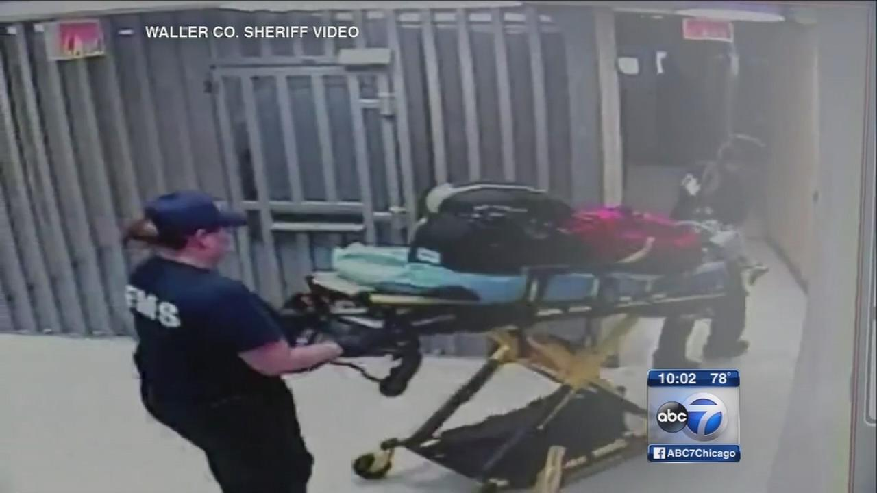 Jailhouse video released in Sandra Bland case