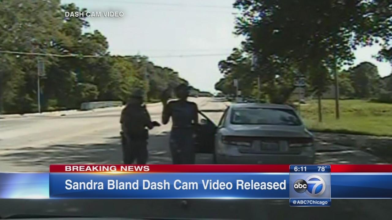 Bland arrest dashcam video released