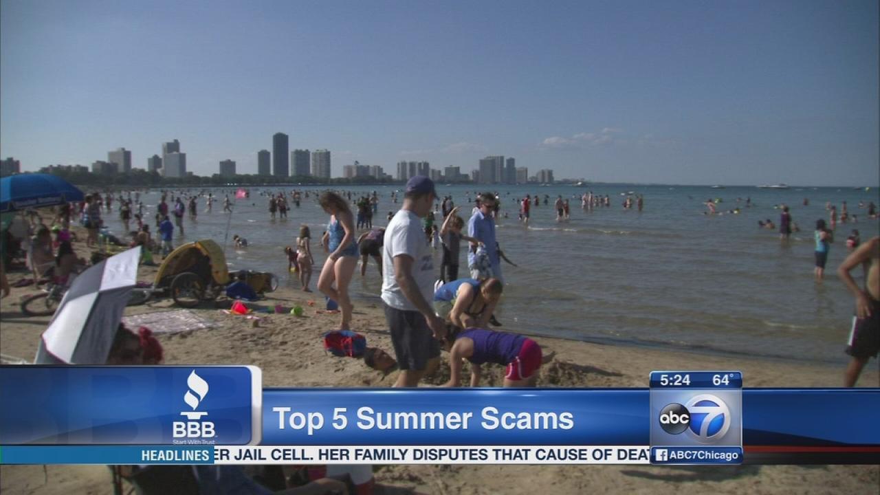 Top 5 summer scams