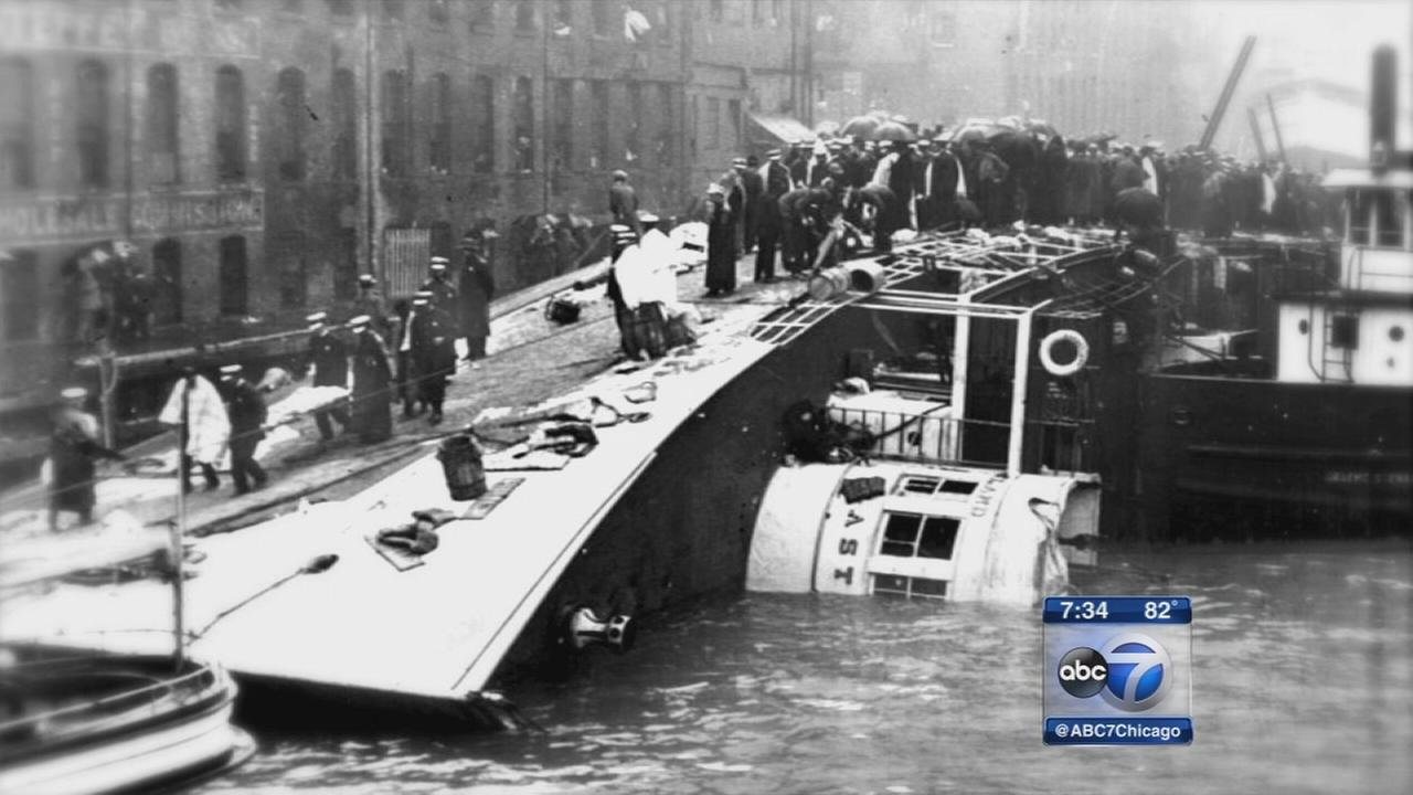 Eastland Disaster memorial considered on Chicago Riverwalk