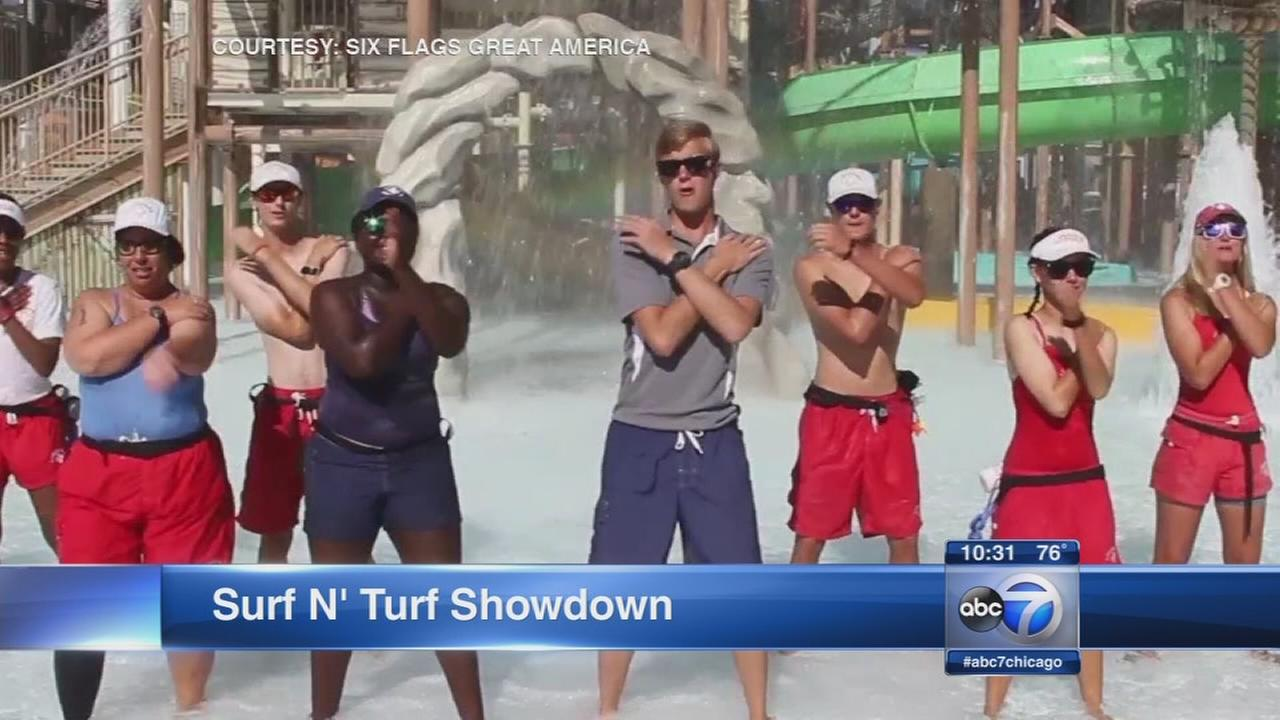 Great America lifeguards enter lip sync contest