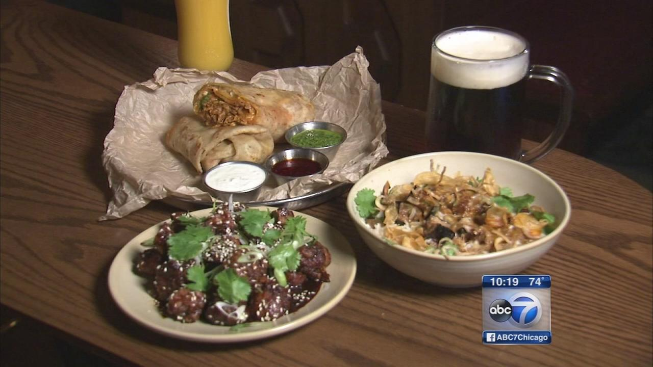 Pub Royale combines English cocktails with Indian food