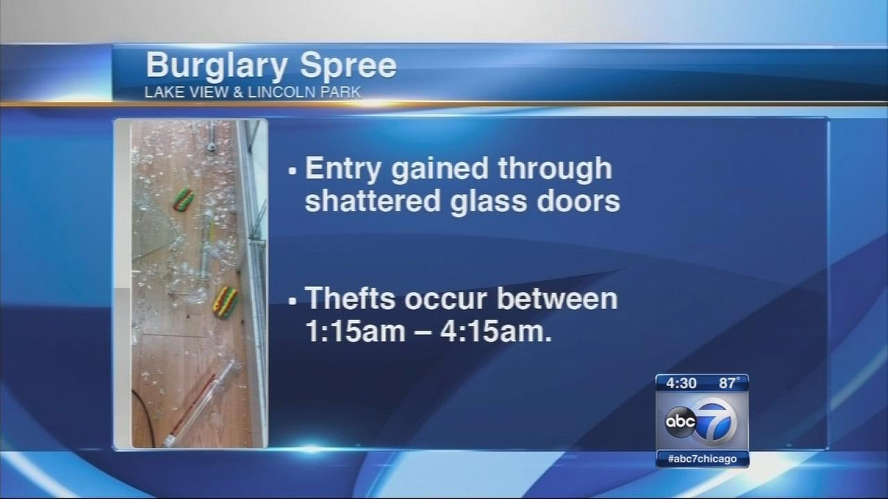 Lakeview burglary spree