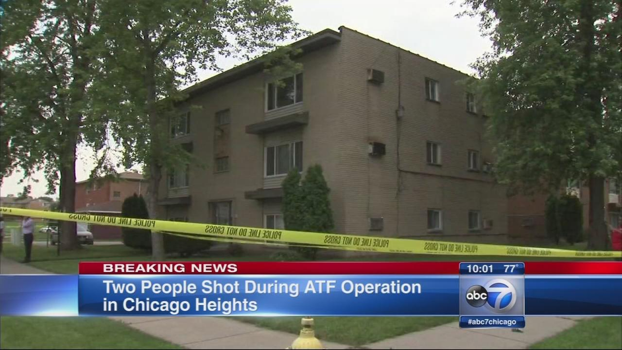 2 shot by ATF agents in Chicago Heights