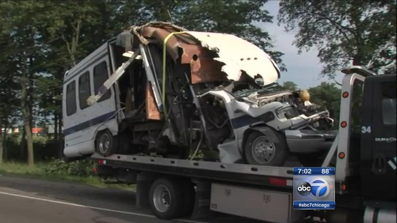 Child killed when Gary bus crashes