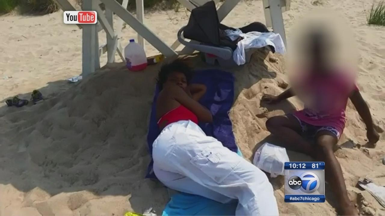Gary lifeguard fired after caught lying down on job