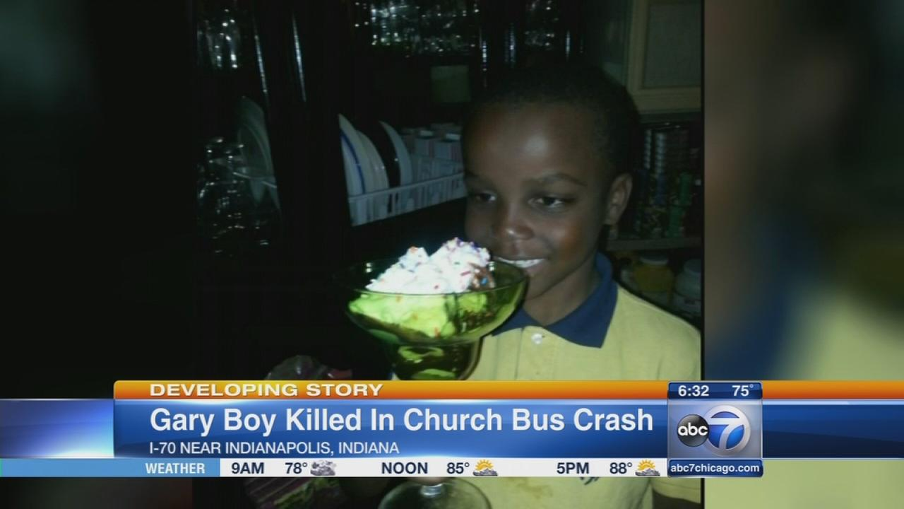 Boy, 6, killed in church bus crash
