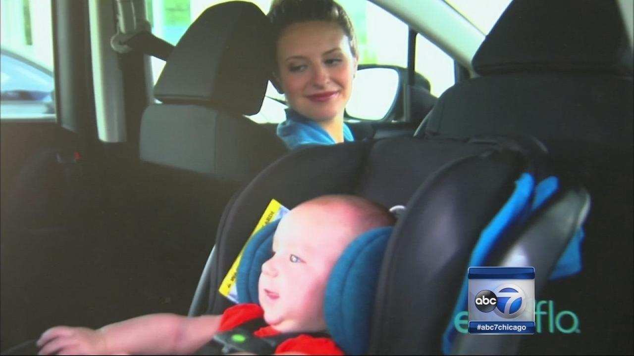 Baby left in hot car doing better