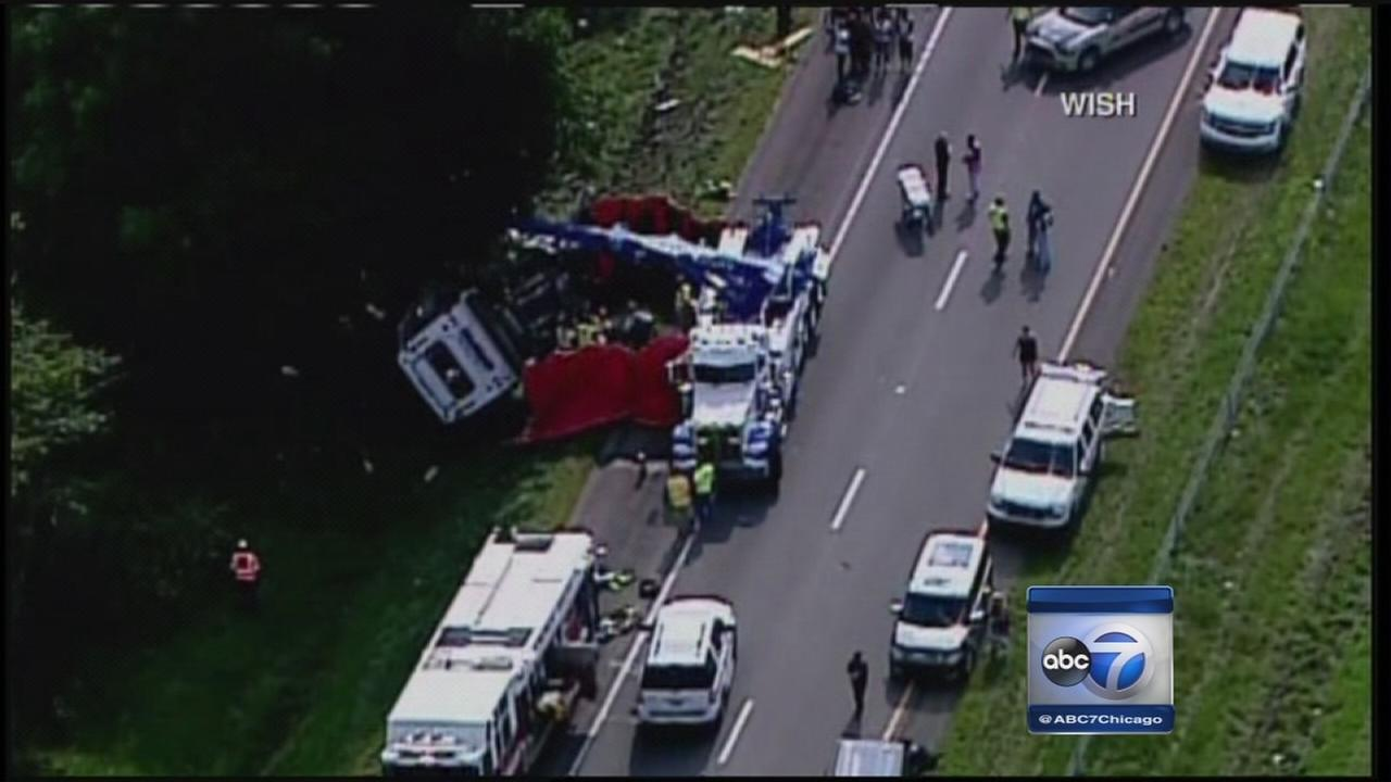 Investigation continues in church bus crash