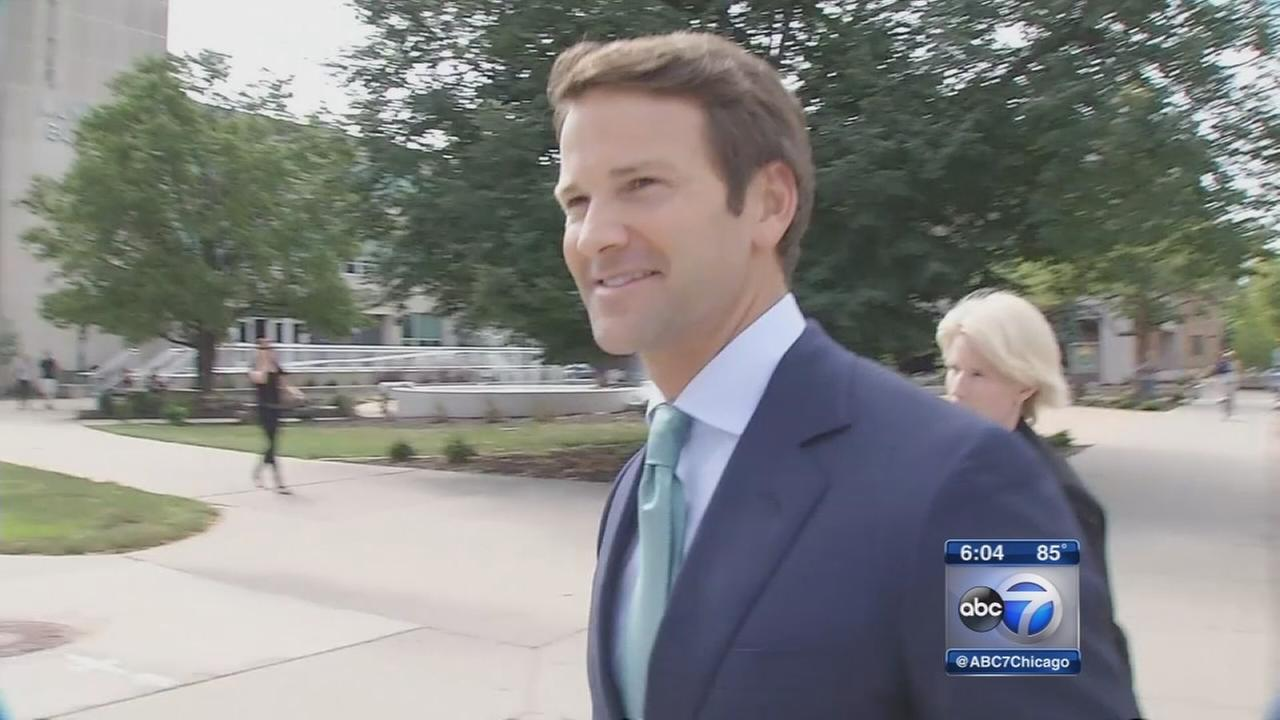 Aaron Schock appears in court