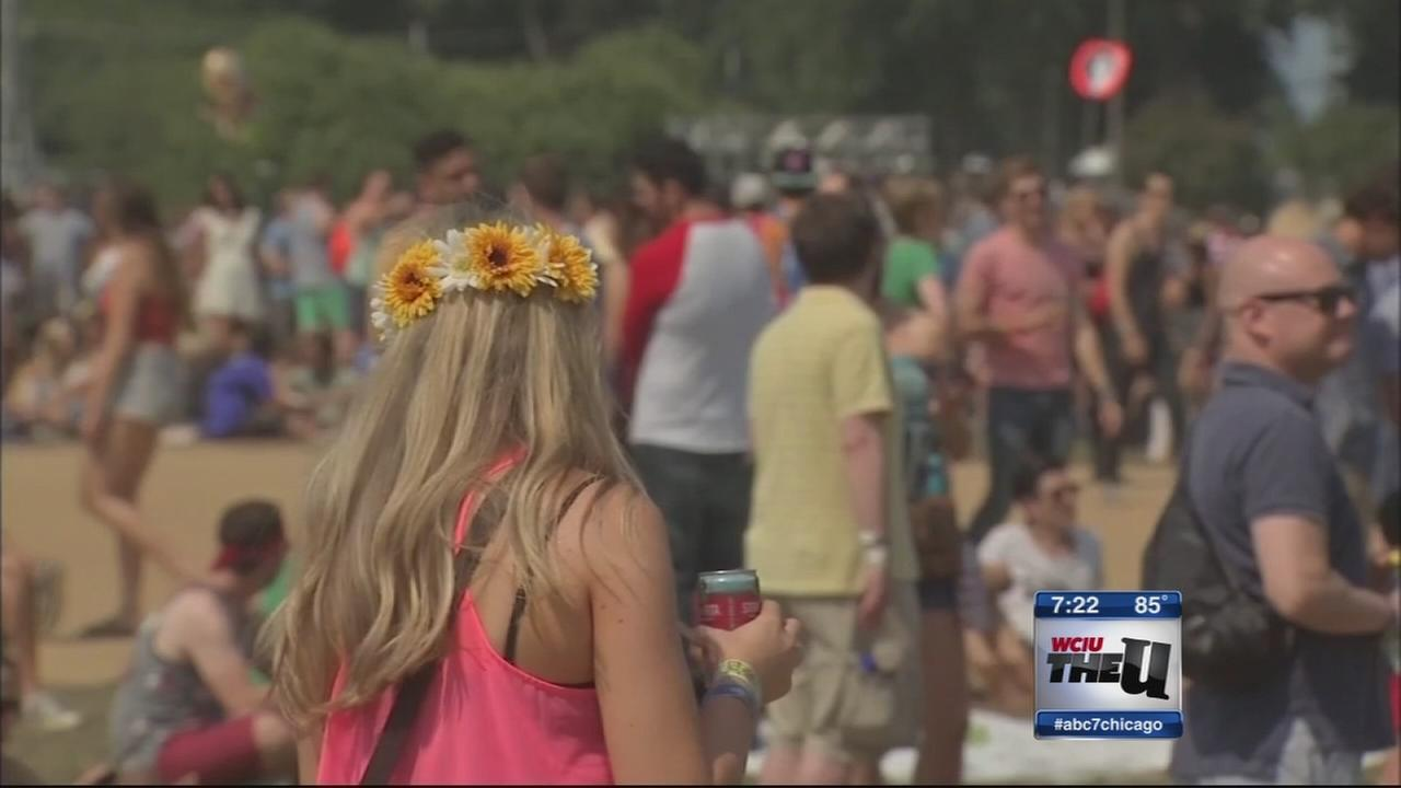 ER visits spike during Lollapalooza, health officials say