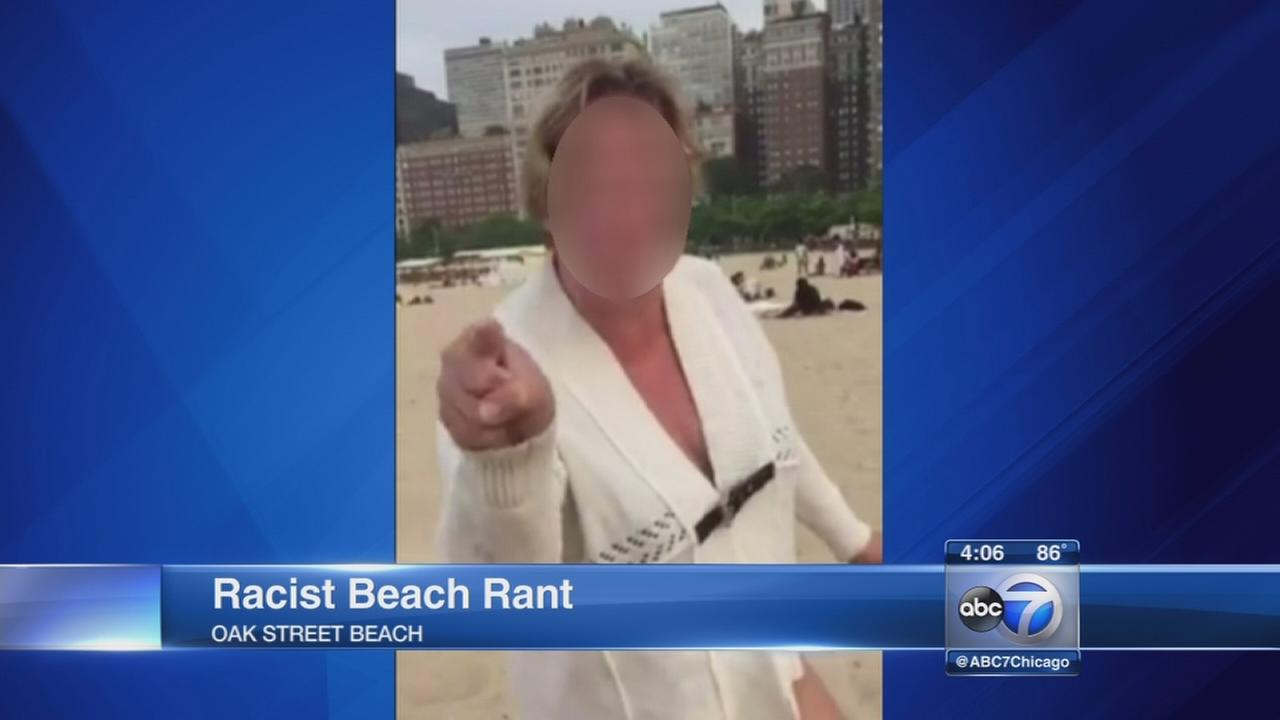 Oak Street Beach racial confrontation caught on video