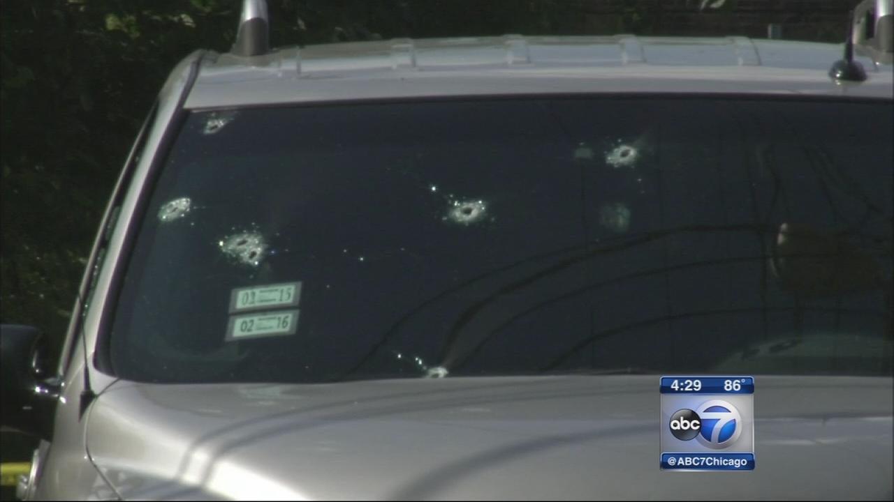 Man shot while driving on Eisenhower Expy