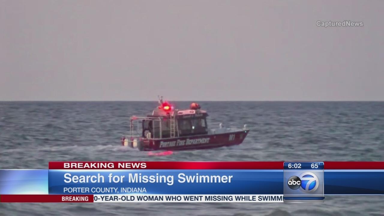Woman missing in Lake Michigan