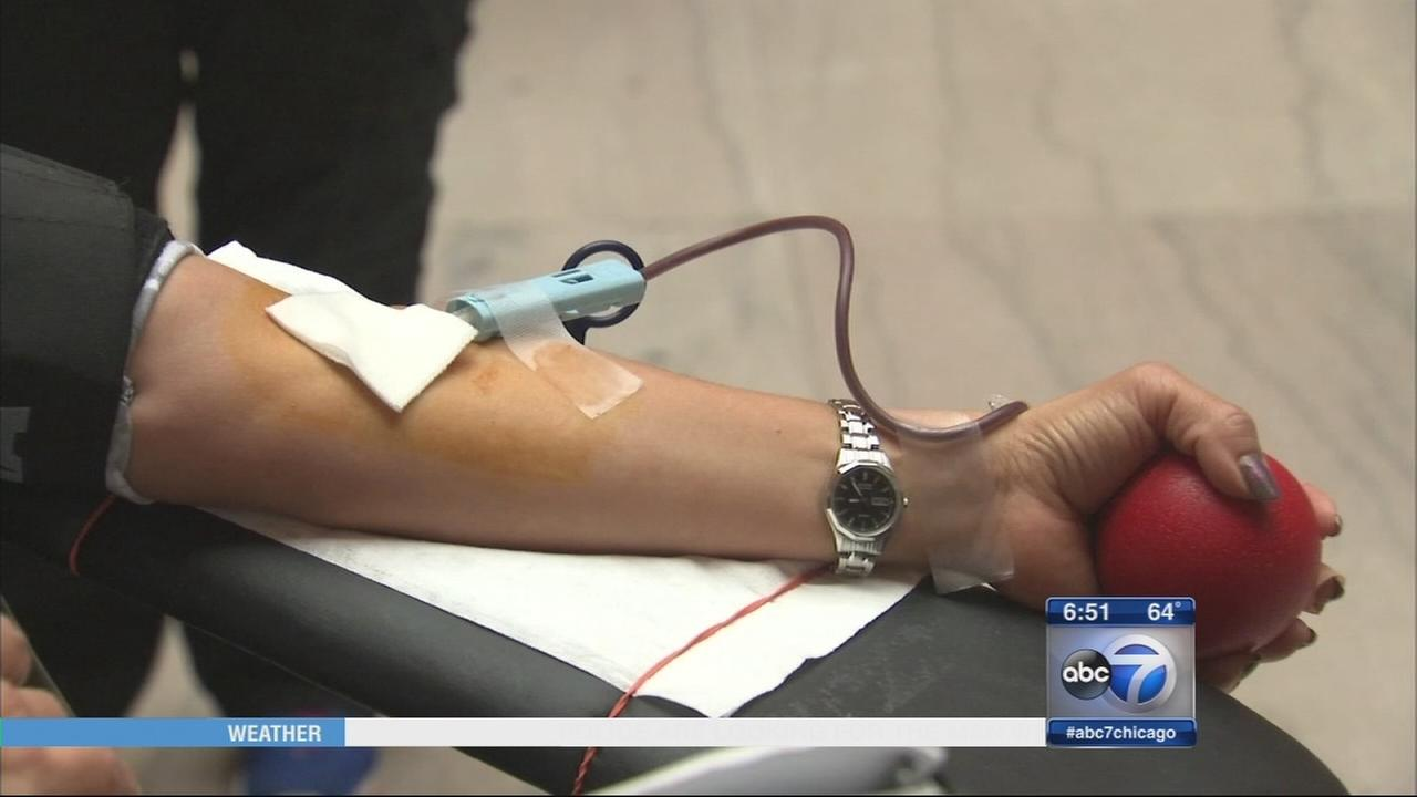 Red Cross holds summer blood drive