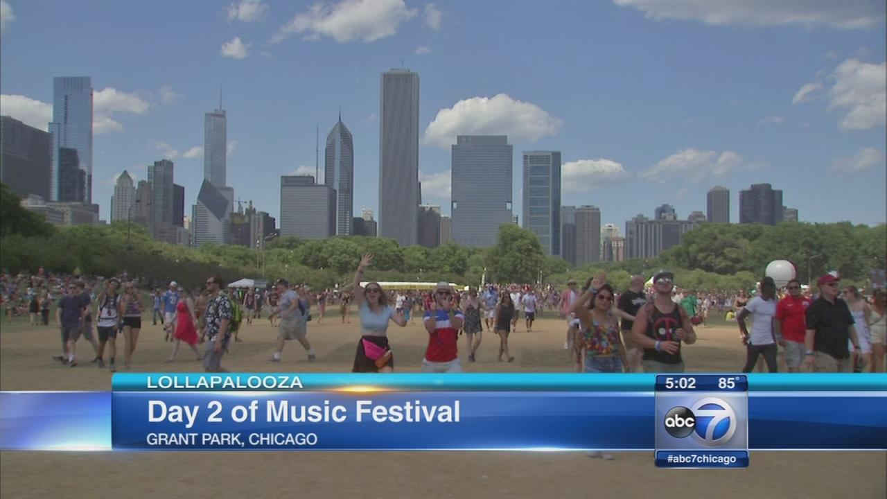 Lollapalooza sees huge crowds, great weather