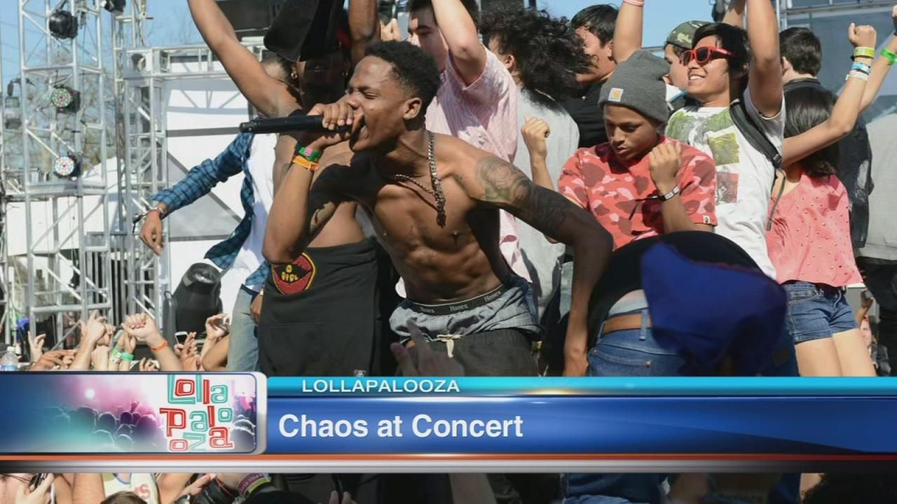 Lollapalooza singer arrested, charged with disorderly conduct