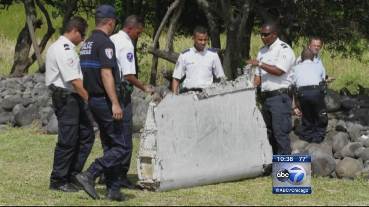 Suspected Malaysia Airlines Flight 370 wing flap arrives at French testing facility