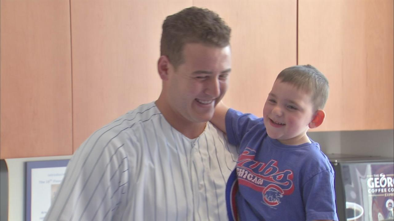 Rizzo?s cancer battle sparked foundation to help kids