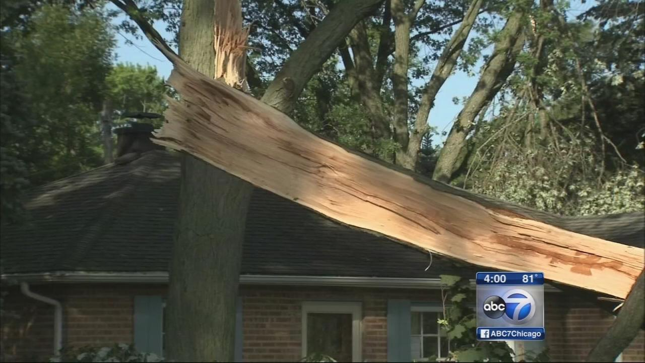 Grayslake tornado damage