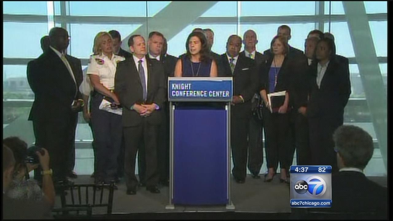 Chicago law enforcement attends gun violence summit
