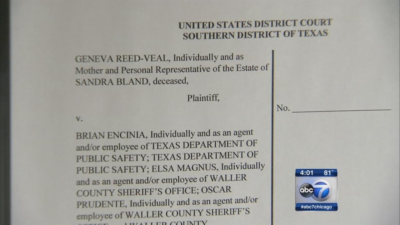 Sandra Bland family sues Texas officials