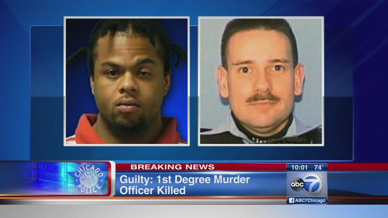 Bryant Brewer guilty in 2010 shooting death of Chicago officer