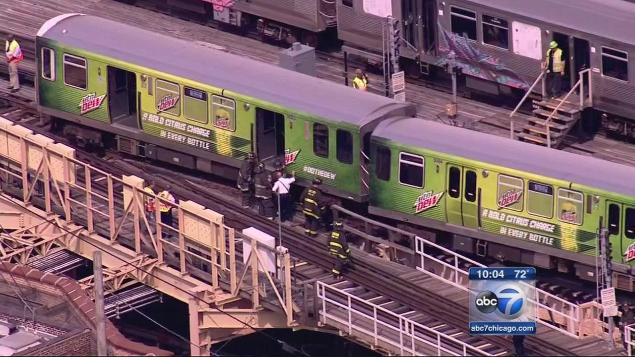 CTA Green Line resumes service