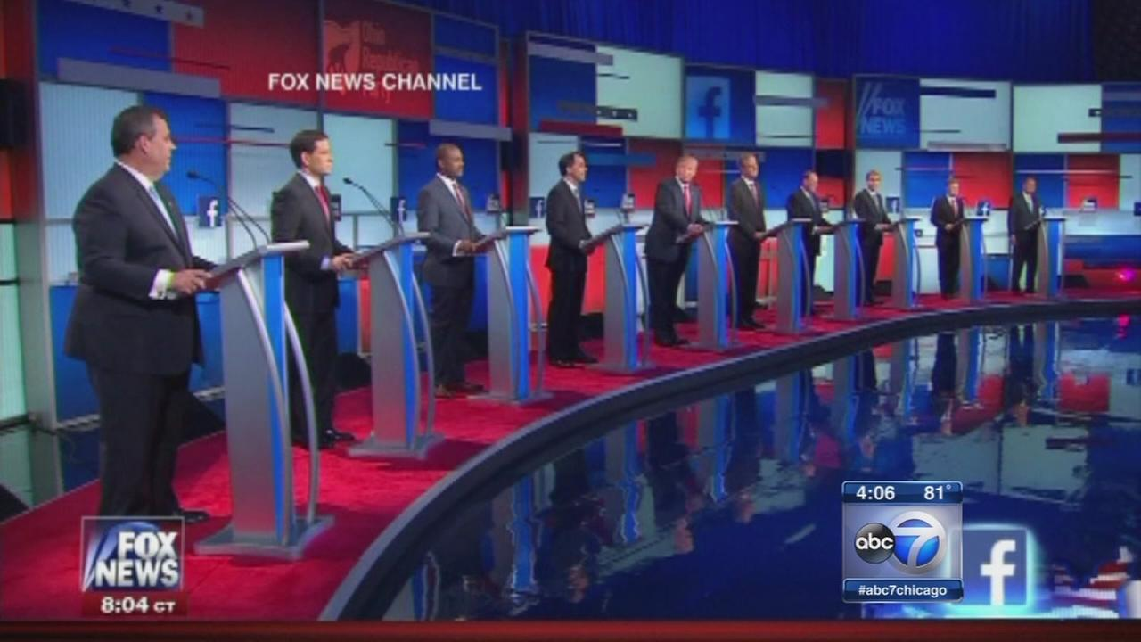 GOP candidates face off in first debate