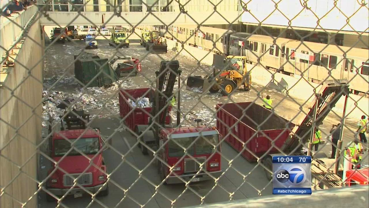 Driver cited in Dan Ryan crash
