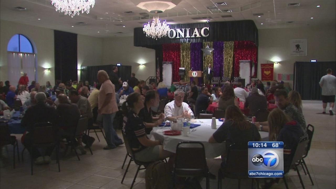 Club honors wounded warriors