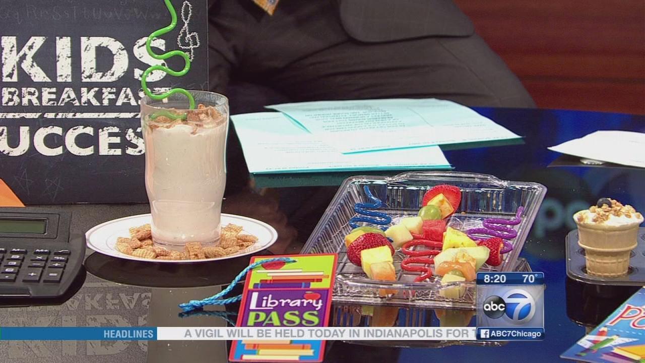 Back-to-school breakfasts