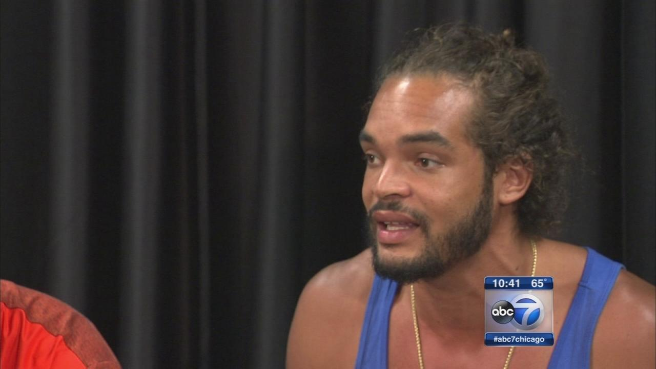 Bulls Joakim Noah on mission to stop the violence in Chicago