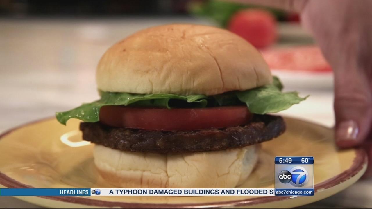 Consumer Reports: Veggie burgers