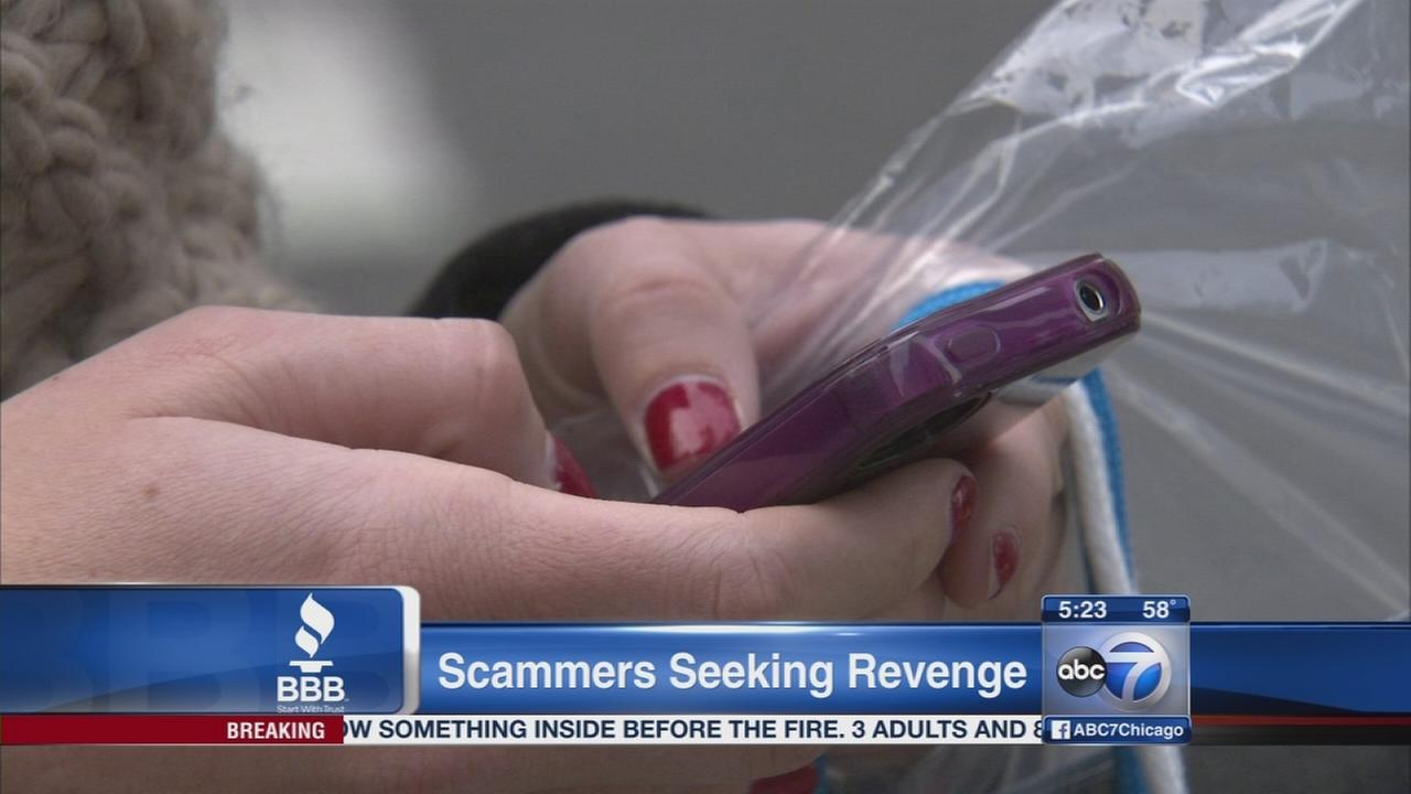 Dangers of seeking revenge on scammers