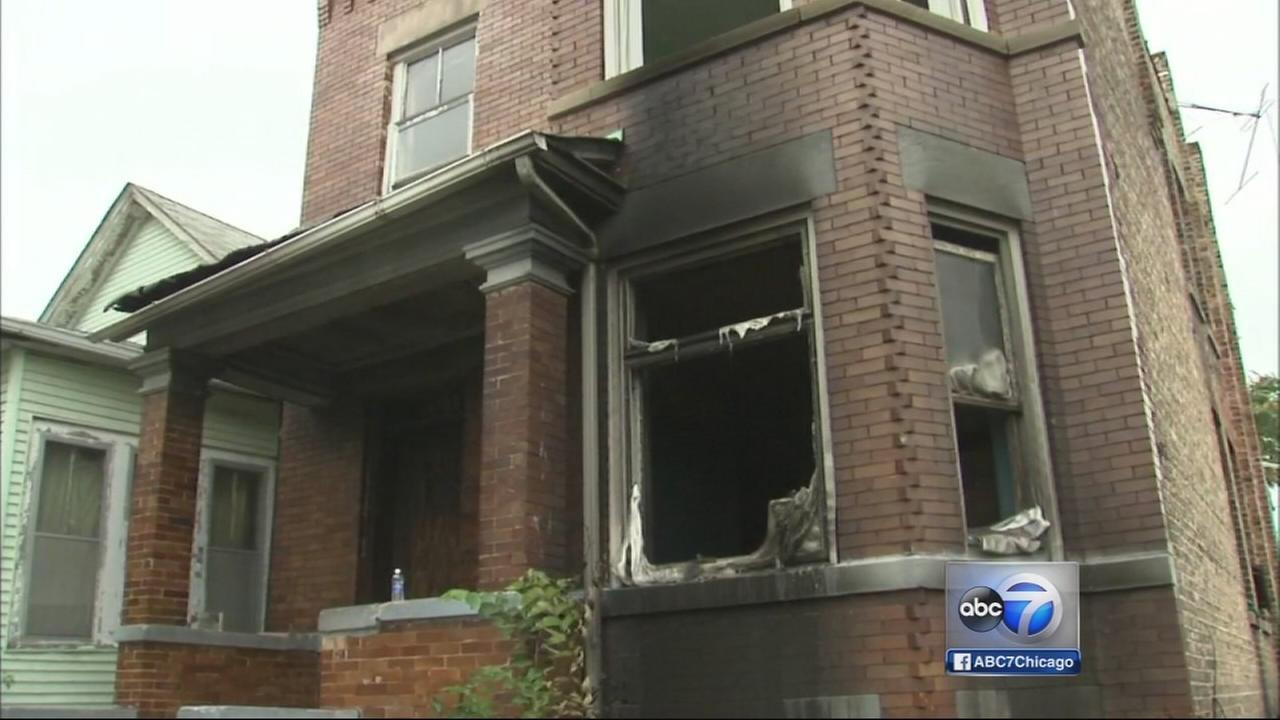 West Garfield Park house fire investigated as arson